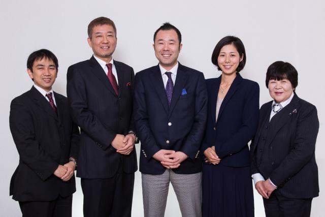 Group photo of Mirai-Terasu
